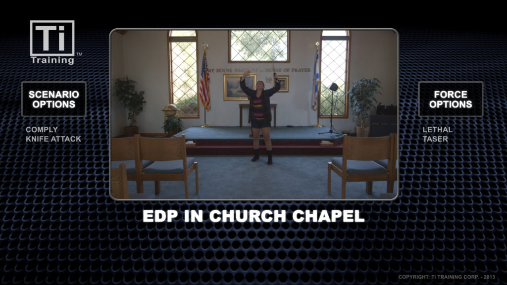 EDP in church chapel