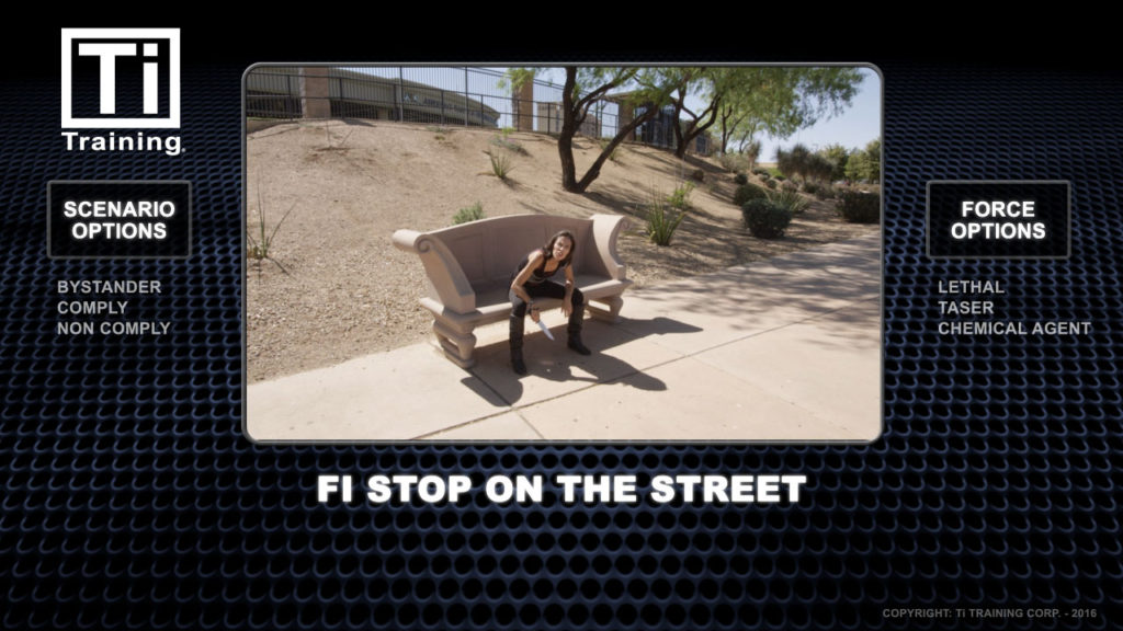 FI stop on the street
