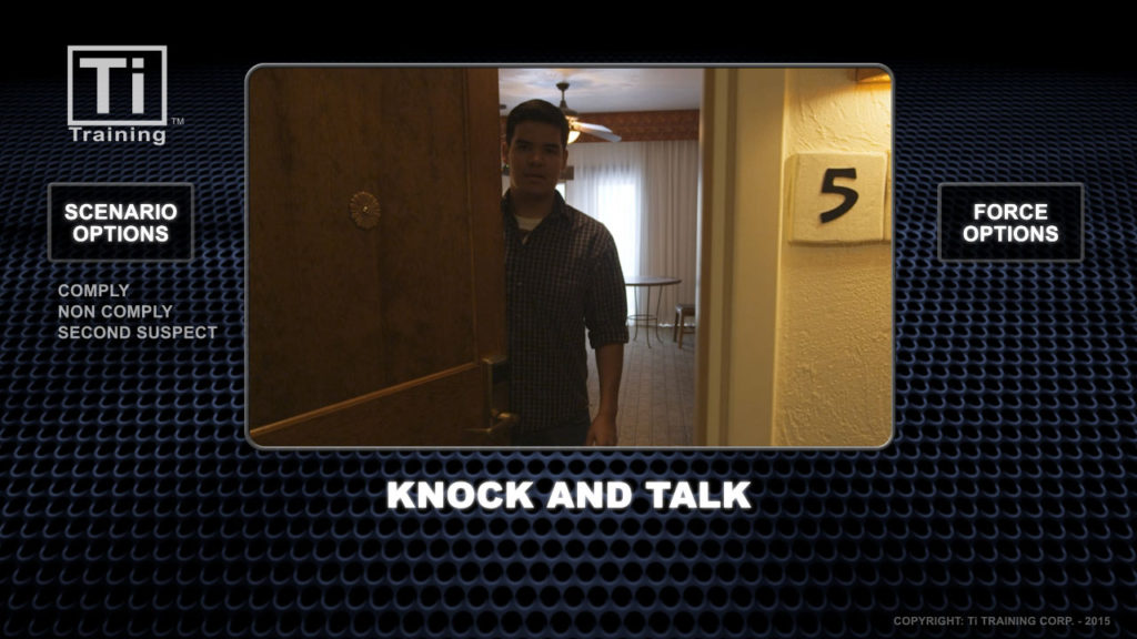 Knock and talk