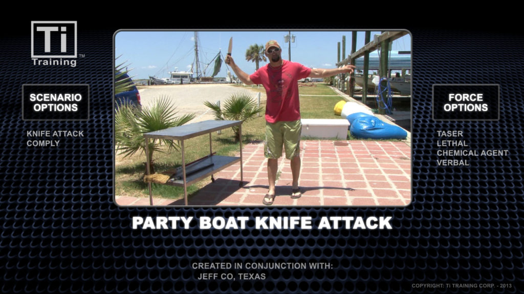 Party boat knife attack