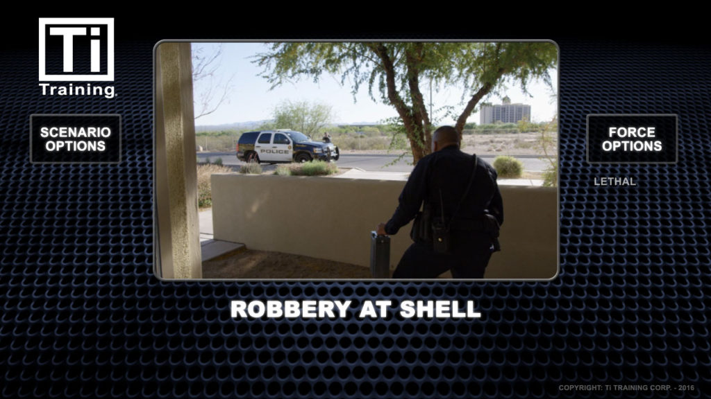 Robbery at shell