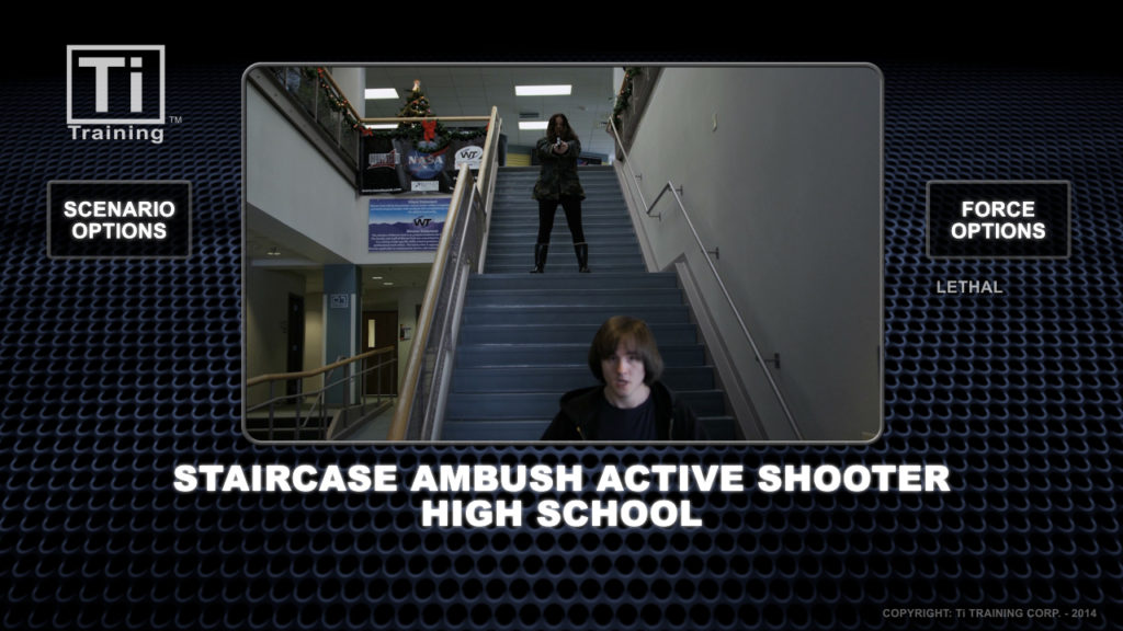 Staircse ambush active shooter high school