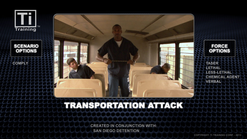 Transportation attack