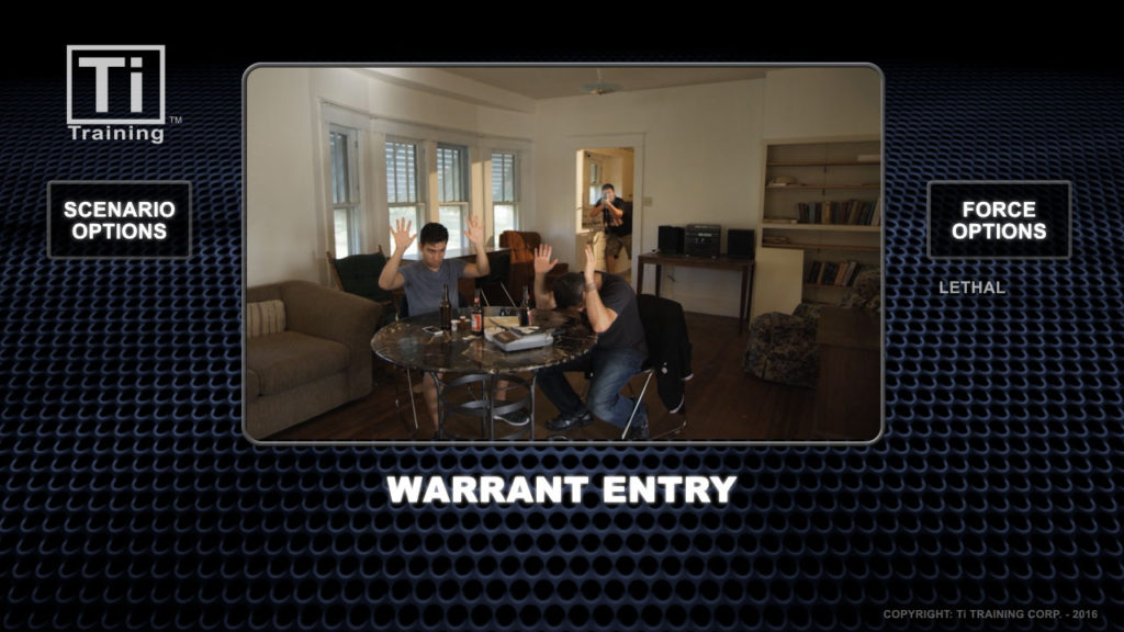 Warrant entry