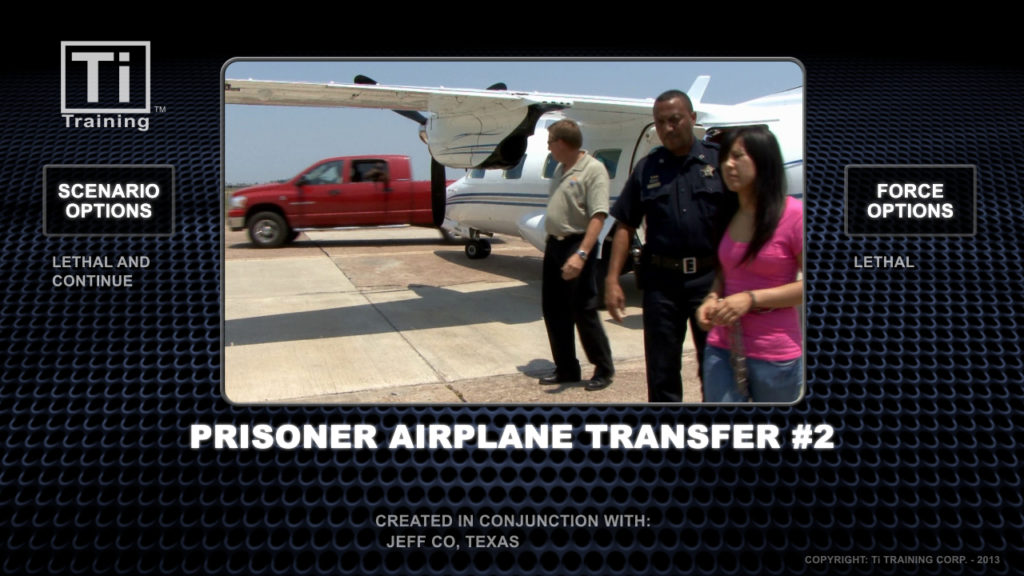airplane prisonier transfer 2