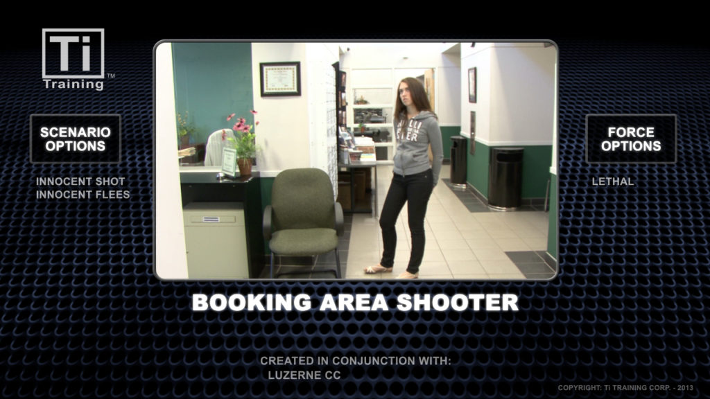 booking area shooter