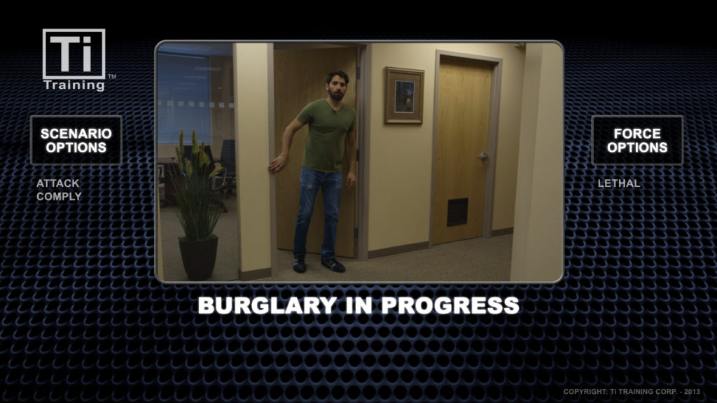 burglary in progress