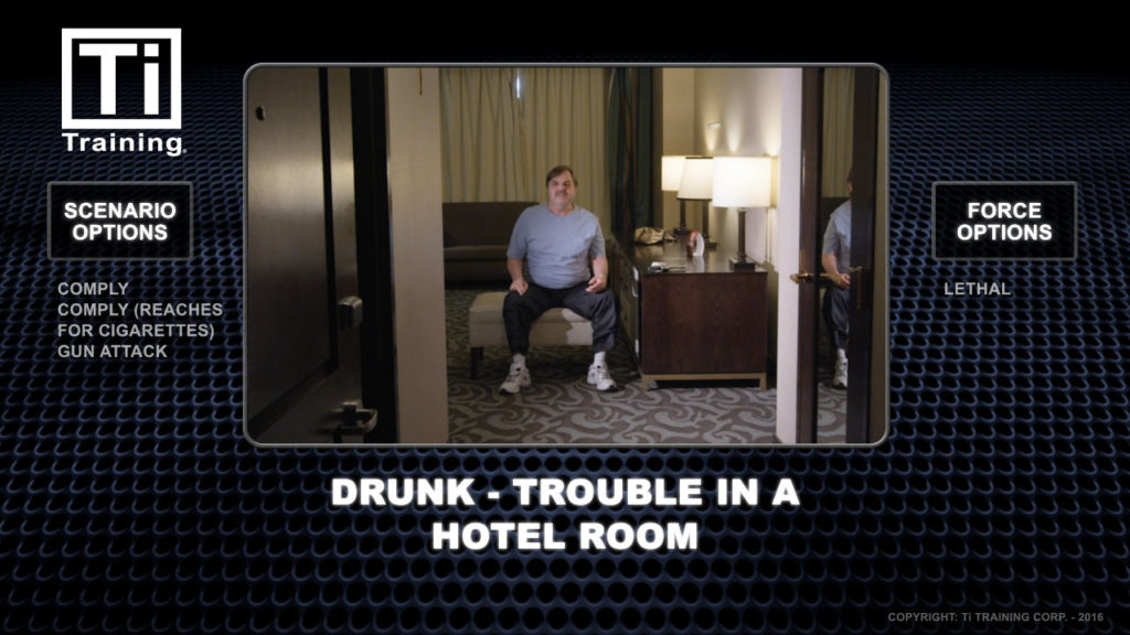 drunk trouble in a hotel room