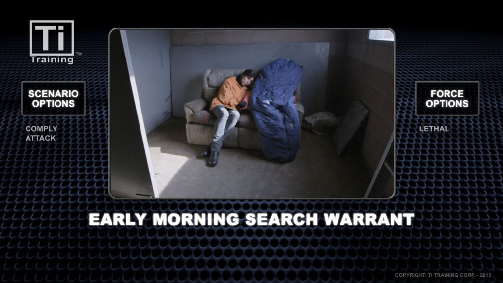 early morning search warrent