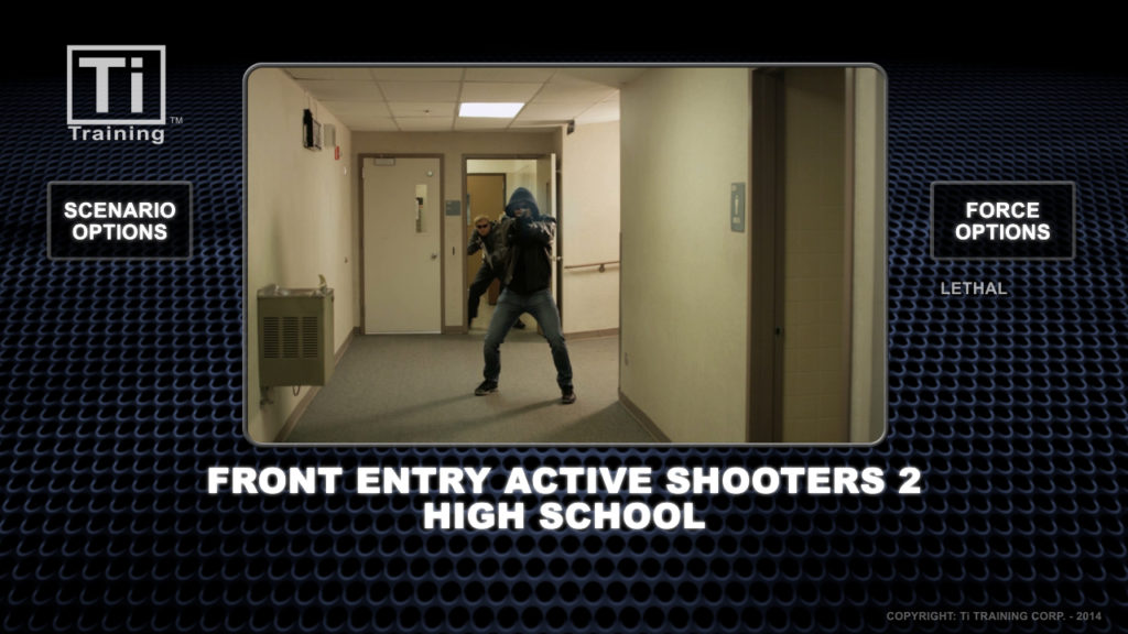 front entry 2 active shooters high school
