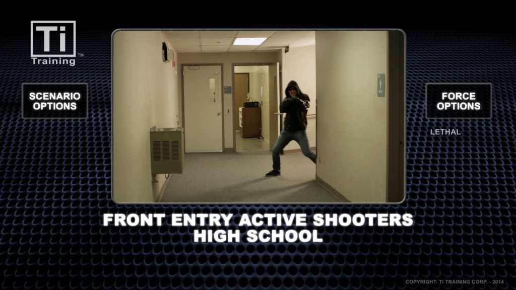 front entry 3 active shooters high school