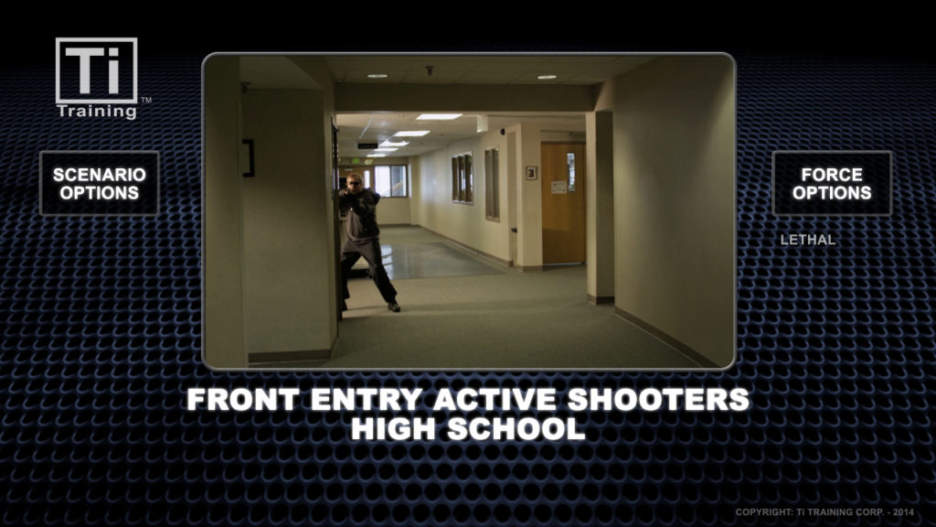 front entry active shooters high school