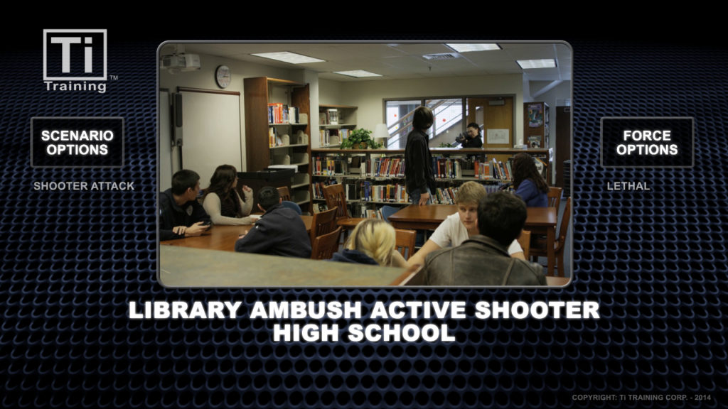 libary ambush active shooters high school