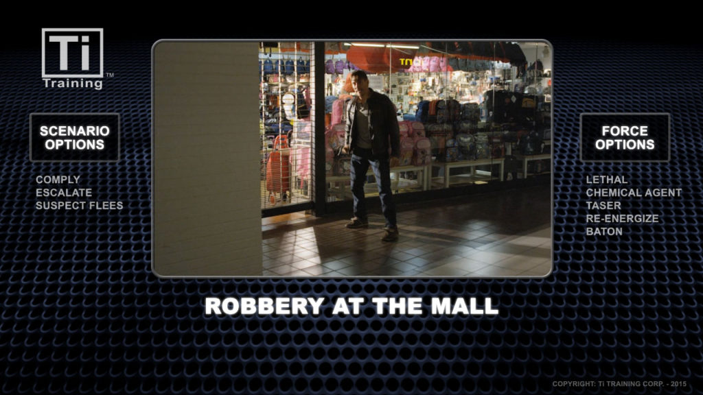 robbery at the mall